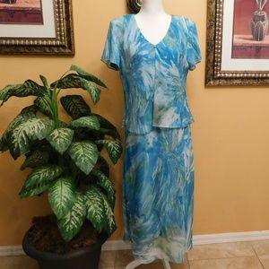 R & M Richards Maxi Dress